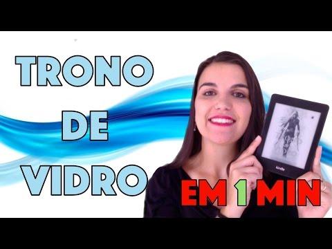 LIVRO EM 1 MINUTO: Trono de Vidro (Sarah J. Mass) | Leitora na Holanda