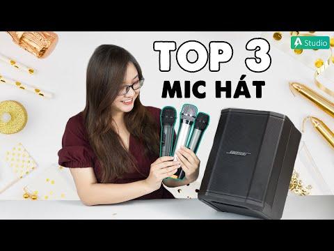 Top 3 Mic Karaoke tốt nhất cho anh em quẩy tết