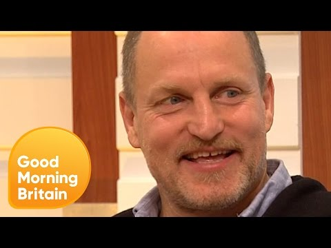 Woody Harrelson on His New One-Take Film and Brad Pitt's Divorce Struggles | Good Morning Britain