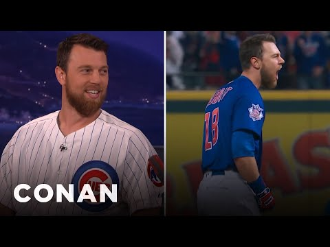 Ben Zobrist On His Incredible World Series-Winning Double  - CONAN on TBS