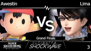 USW 3 - FX | Awestin (Ness) vs Lima (Bayonetta) Grand Finals - SSBU