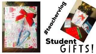Teacher Vlog: Episode 25 | Holiday student gift ideas! | First Grade Bound