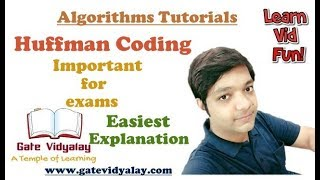 Huffman Coding in Algorithms | Explained Step by Step | Numerical Problems