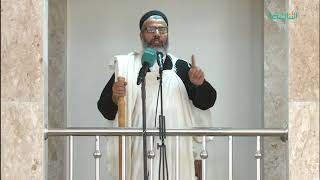 المواعظ المنبرية | صور وعبر من متابعة عمر بن الخطاب للنبي الكريم | مسجد آل البيت - مسلاتة | 01 - 12 - 2017