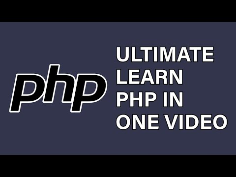 PHP Tutorial 2021