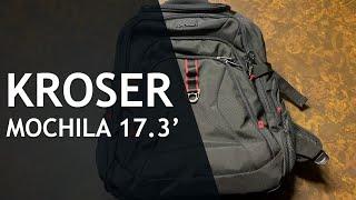 Unboxing y Revisado de La MOCHILA KROSER Travel Laptop Backpack 17.3