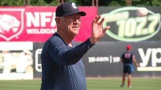At 80, Andy Baylock is still throwing batting practice