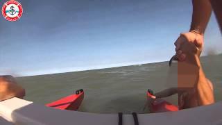 preview picture of video 'Salvataggio di un ragazzo in mare a Rimini'