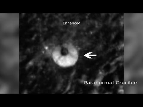 Que es esta estructura de 3 millas en la luna