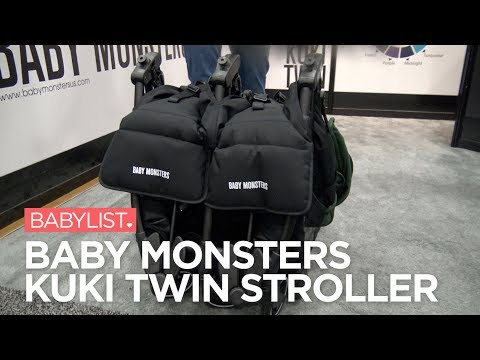 Baby Monsters Kuki Twin Stroller Review
