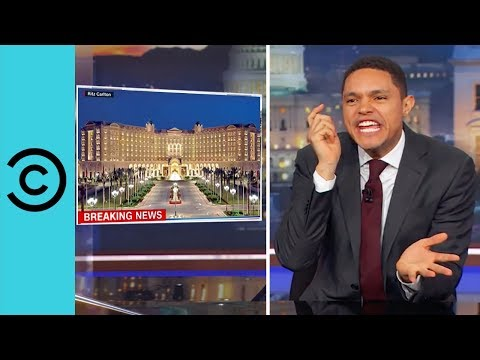 There Are Worse Places To Be Detained Than The Ritz Carlton! | The Daily Show