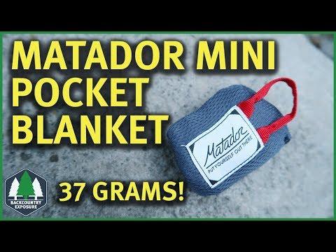 Matador Mini Pocket Blanket | Glorified Ground Sheet?