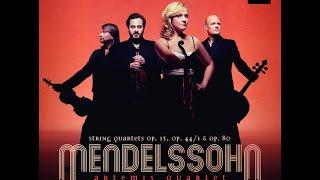 Felix Mendelssohn, String Quartet No. 6 Op.  80, Artemis Quartet