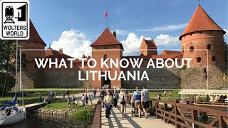 Lithuania - What To Know Before You Visit Lithuania