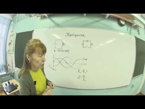 катушка индуктивности в цепях постоянного и переменного тока