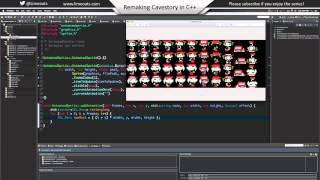 Remaking Cavestory in C++ - Episode 5 - Animating our sprites