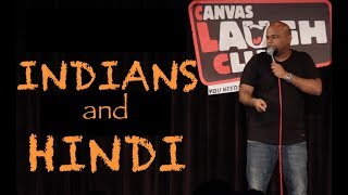 Indians and Hindi | Stand up Comedy by Nishant Tanwar