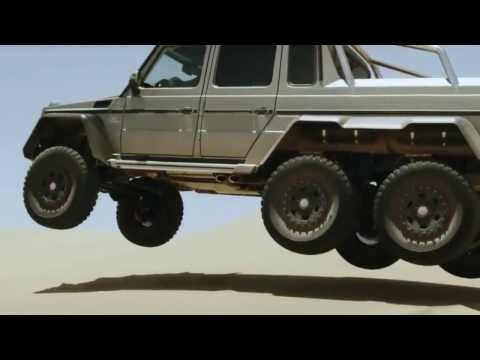 2014 mercedes G 63 AMG 6 wheel truck commercial-Mercedes G63 AMG V8 BiTurbo 6×6