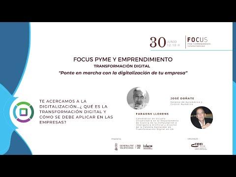Debate Coloquio: qué es transformación digital - Focus Pyme y Emprendimiento Transformación digital[;;;][;;;]
