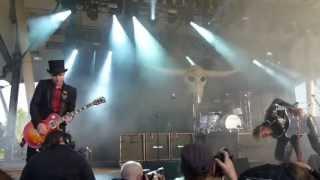 D-A-D - Intro / Isn't that wild - RockHard Festival Gelsenkirchen 18.05.2013