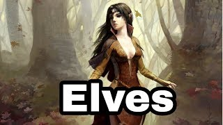 The Origins And History Of Elves [Norse Mythology]