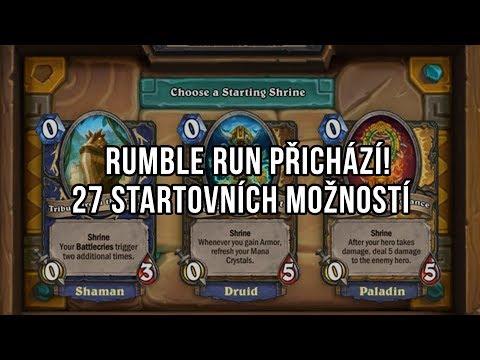 Rumble Run přichází!