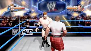 All Stars: Rowdy Roddy Piper vs Sheamus - BRAWLIN FULL MATCH