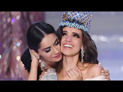 Manushi Chhillar crowns her successor Vanessa Ponce De Leon from Mexico as Miss World 2018