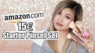 15€ STARTER PINSEL SET VON AMAZON IM LIVE TEST l Kisu