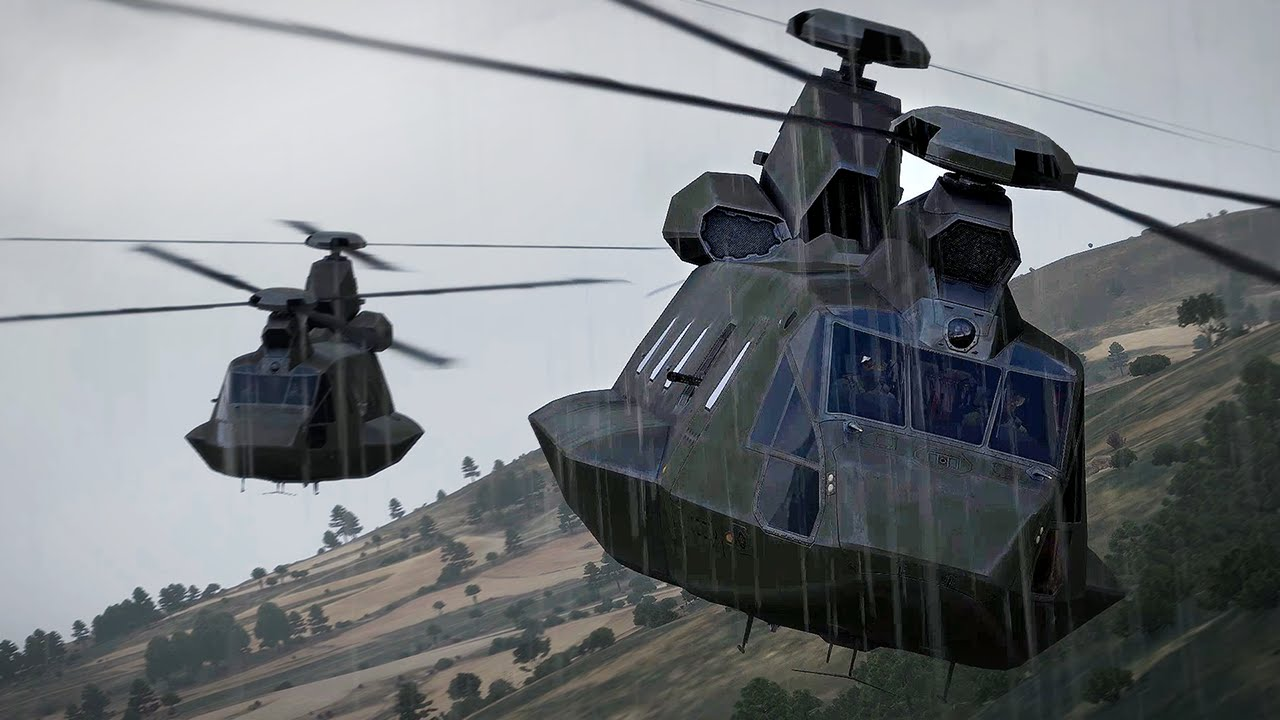 different types of army helicopters with Arma 3 Helicopters Dlc Now Available on Arma 3 Helicopters Dlc Now Available also File Apache Helicopter Nose Optics and Sensors MOD 45150280 moreover defensasur furthermore Realistic Photos Fighter Jets Flight Created Using Scale Models also Number Of Blades In A Helicopter Rotor.