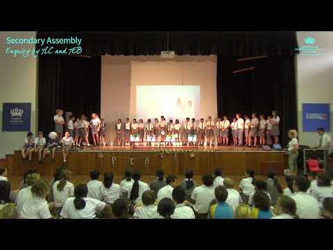 Secondary School Assembly: Enquiry by 7LC and 7EB