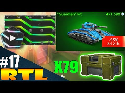 Tanki Online ROAD TO LEGEND #17 By LendaBR | Buying Guardian kit