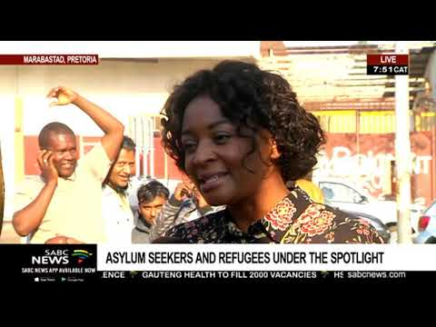 Maluti Phiri talks about challenges faced by asylum seekers in SA