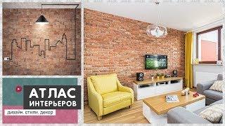 Декоративная отделка стен под кирпич. Идеи: имитация кирпичной кладки в интерьере
