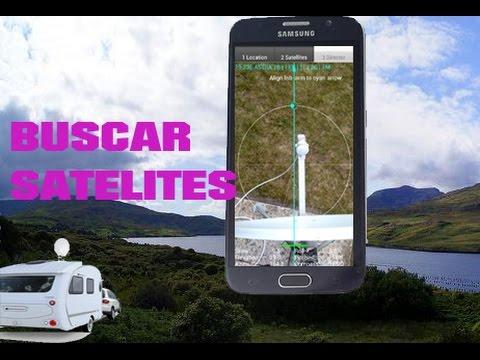 App para buscar y sintonizar satélites con Android