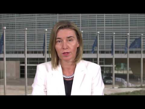 Federica Mogherini presents the EU Global Strategy