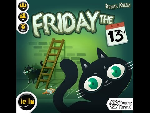 Board Game Brawl Reviews - Friday the 13th