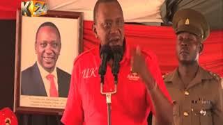 President Kenyatta, DP Ruto hold rallies in Garissa, Kitui and Machakos