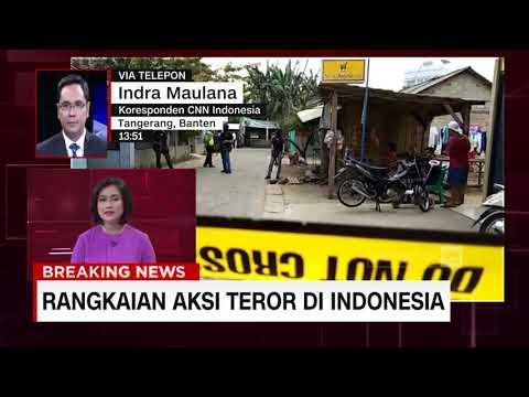 Densus 88 Gerebek Terduga Teroris di Tangerang