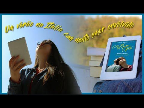 #VlogLendo Me Chame Pelo Seu Nome: um romance poético e sensível