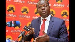 Chama cha Jubilee kiko tisti, hakuna mkutano wowote wa dharura, asema Tuju