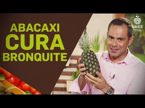 Como fazer xarope de abacaxi | cura para a bronquite | Saúde Total