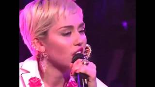 Miley Cyrus - Twinkle Song (LIVE)