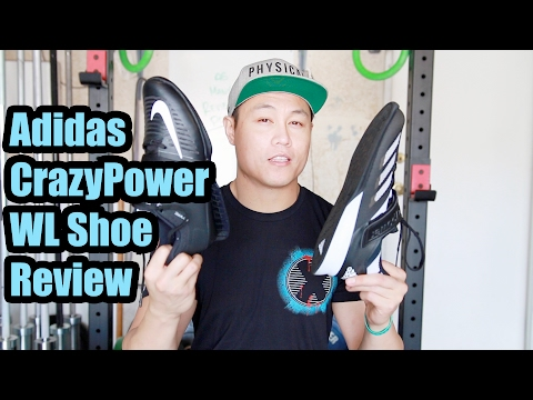 Adidas CrazyPower Weightlifting Shoe Review & Comparisons
