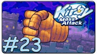 Kirby Mass Attack 100% Walkthrough Part 23 Volcano Valley Stage 7 & 8
