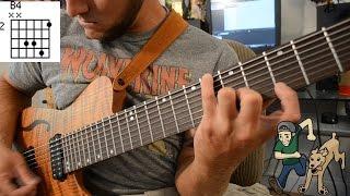 Beginning 8 String Guitar Vol. 1 - Major Chord/Scale Shapes