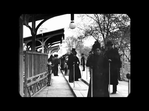 Paris in the 1890s, filmed by the Lumière brothers - Possibly some of the best footage of 19th century everyday life