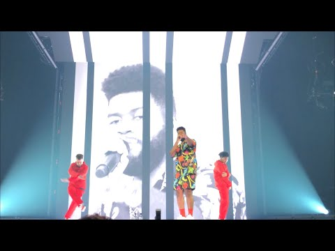 "Khalid ""My Bad"" LIVE @ Free Spirit Tour LA 6/25/19 - Joel Angel"