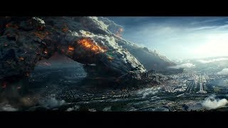 Independence Day Resurgence 2016 Humungous Spaceship Lands On Earth