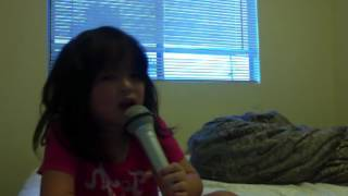 """5 Year Old Girl Singing """" So Complicated"""" By Anna Graceman"""